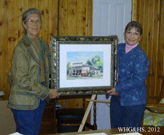 WHG&HS Jane Carpenter Painting 003