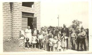 May 24-June 6 1943 Wetmore Vac Bible school Veron Schiffer