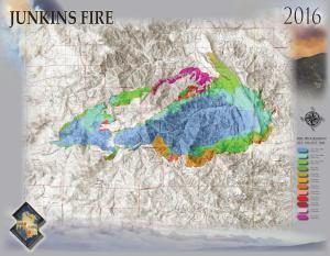 Junkins Fire Map 11-1