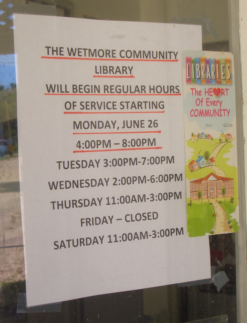 Wetmore Community Library (2)