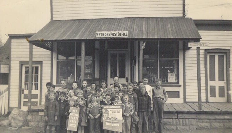 Bill Hall Wetmore PO 1941or 1942 War Bonds