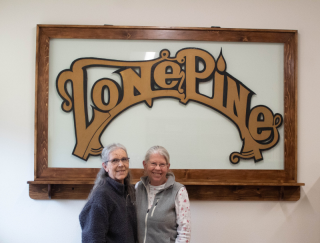 Lone Pine Margaret and Nan