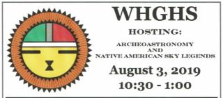 WHG&HS event