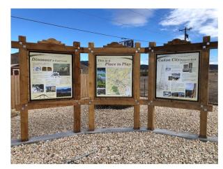 Canon city kiosk #2 3 panel