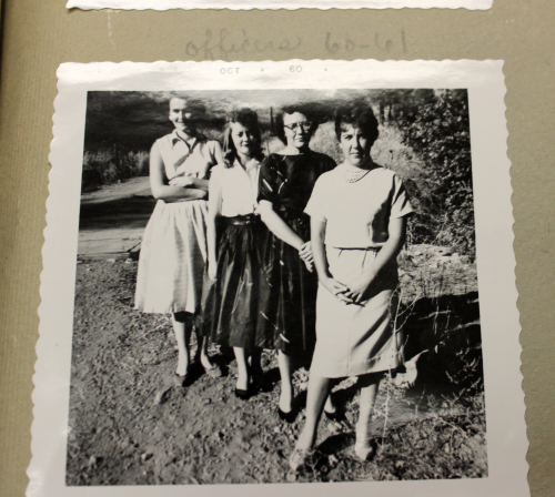 Mountain View Home Demonstration Club Officers 1960-1961