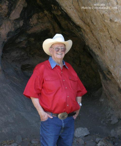 George Draper at Draper Cave