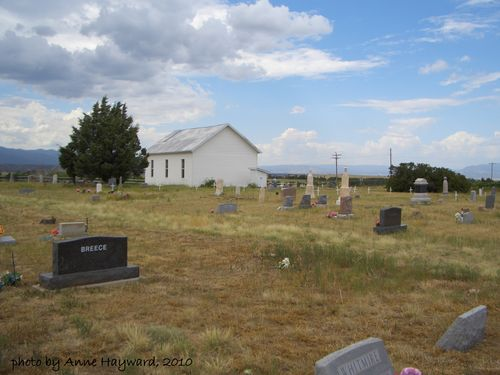 New Hope Church and Cemetery, Wetmore, CO
